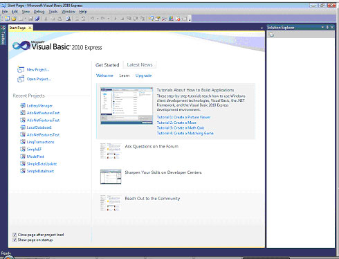Visual studio c# 2010 tutorial 1 how to create a windows forms.